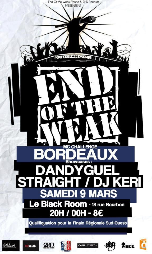 End Of The Weak Bordeaux 2013