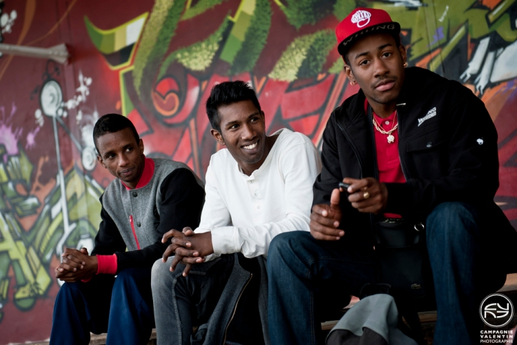 Niggaz, Karl & Junior - Pockemon Crew