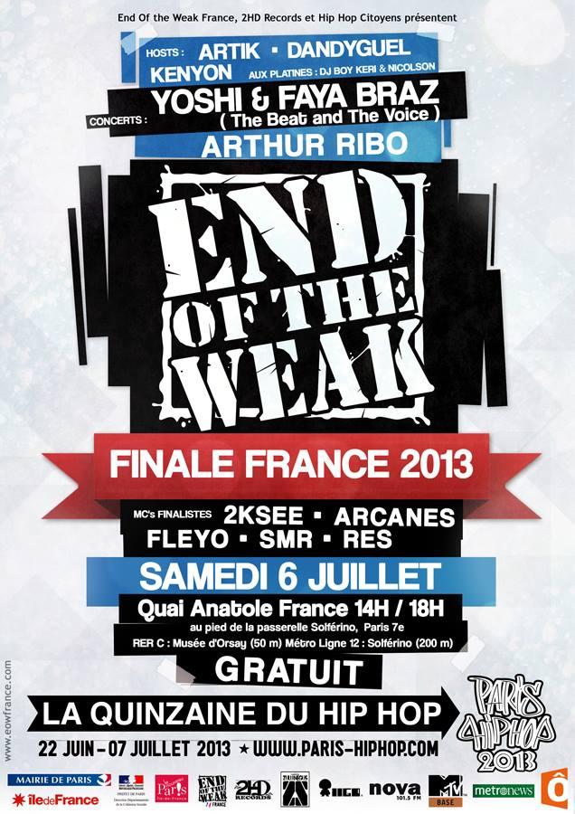 AFFICHE FINALE EOW 2013
